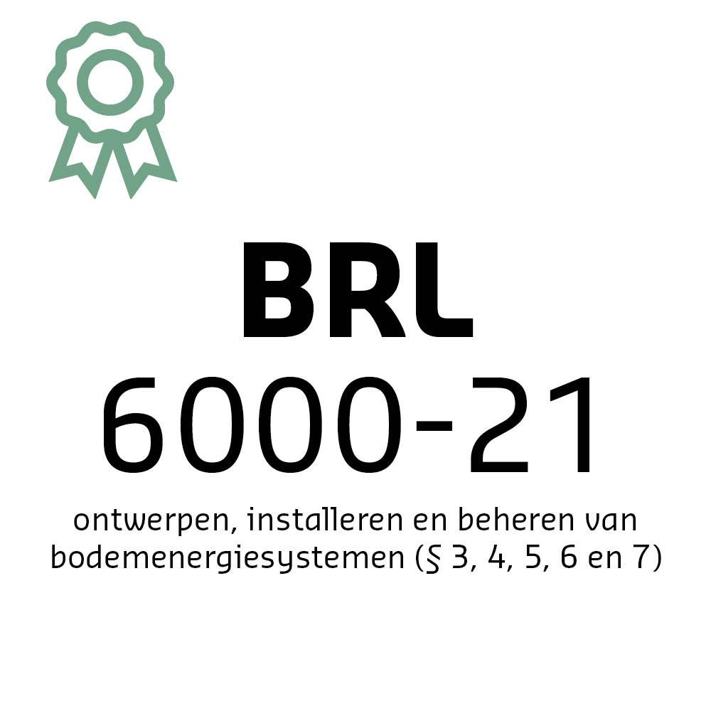 Certificaat BRL 6000-21 | Hollander Techniek