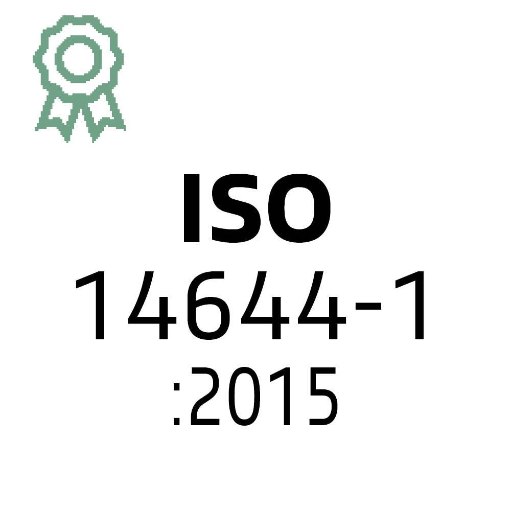 Certificaat ISO 14644-1:2015 | Hollander Techniek