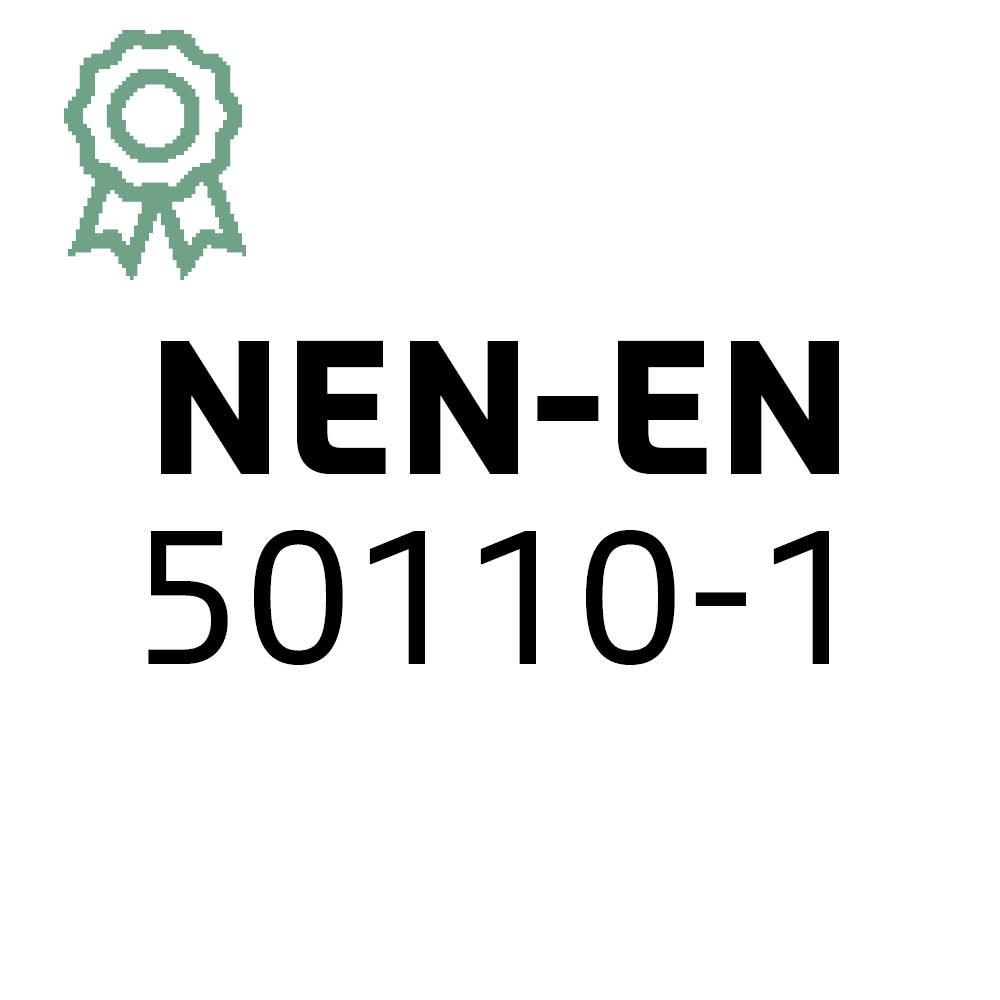 Certificaat NEN-EN 50110-1 | Hollander Techniek